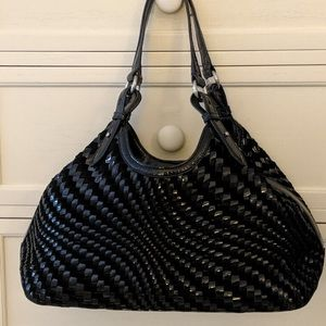 Cole Haan woven tote Genevieve